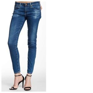 NWT 7 For All Mankind High Waist Ankle Skinny Jean