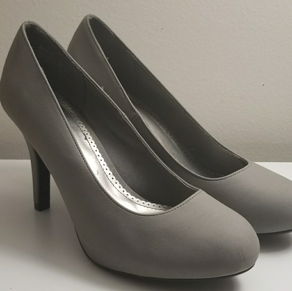 FIONI Clothing Shoes | Gray Round Toe