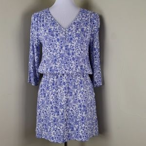 Skies are Blue 3/4 Sleeve V Neck Dress Size Medium