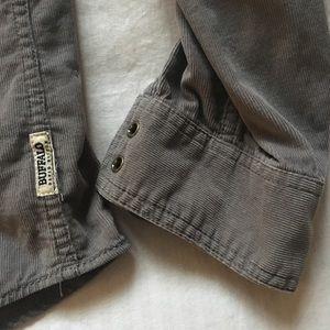 Men's Corduroy Button Down Shirt