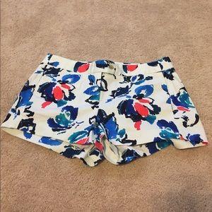J. Crew Floral shorts size 10