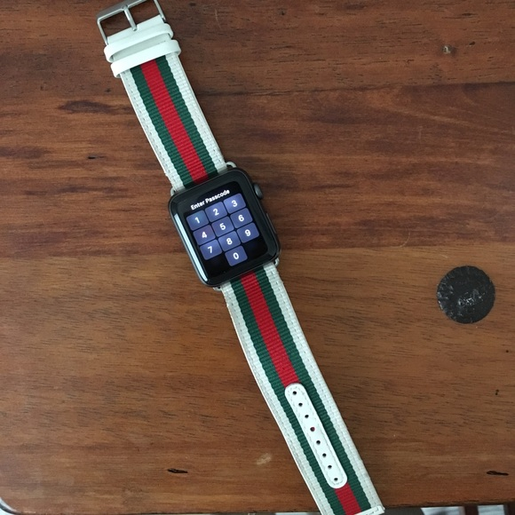 c8cf4bcaca0 Gucci Other - Gucci Apple Watch Band 42MM