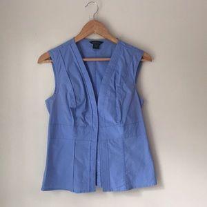 Victoria's Secret Blue Sleeveless Blouse