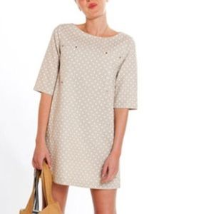 Emerson Fry Dress polka dot linen