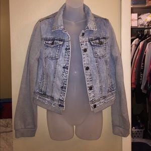 Rue 21 Denim Jacket Size L