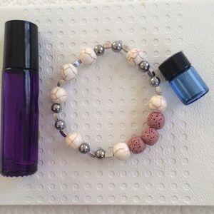❤️ Handmade Lava Stone Diffuser Bracelet