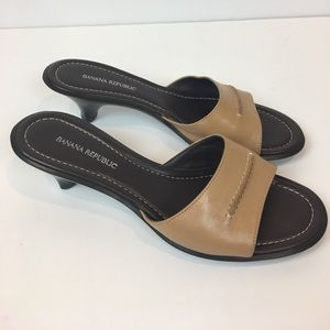 Banana Republic Women's Sandals Size 6 Leather