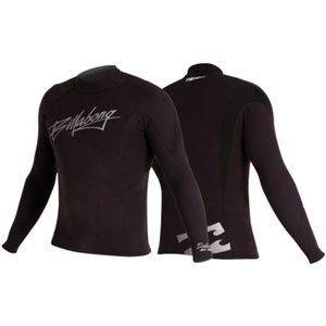 Billabong Men's Equator Black Wetsuit top