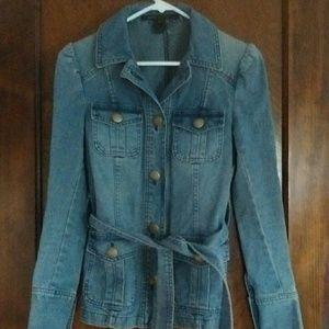 Marc Jacobs denim jacket 70s retro