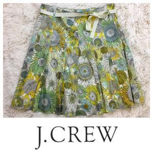 J. Crew Liberty of London sunflower floral skirt 2