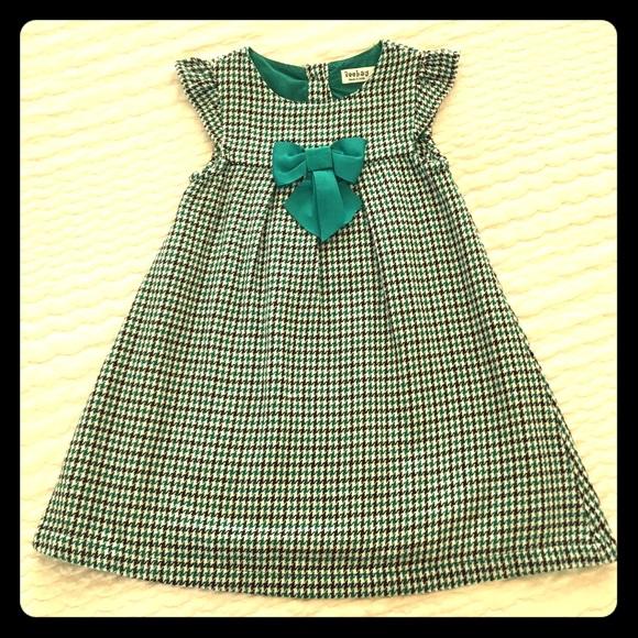 Beebay Other - Beebay Houndstooth Dress, Sz 2-3yrs