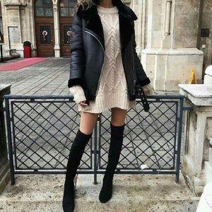 Authentic VS Knit Sweater Dress