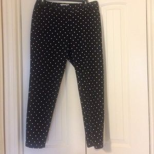 Black and white Liz Claiborne pants