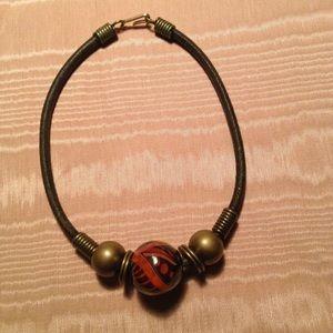 Jewelry - Leather Choker