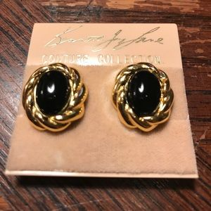 Kenneth Jay Lane couture collection earrings