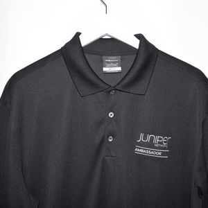 Nike Shirts - Nike Golf Dri-Fit Embroidered Polyester Polo Shirt