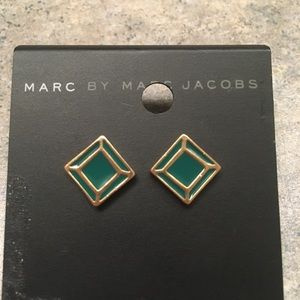 🎊FINAL SALE🎊 marc jacobs green gold earings NWT