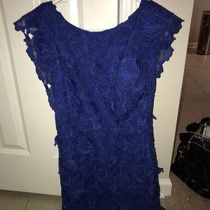 Topshop Mini Dress Royal Blue Brand New