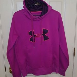 Under Armour Sweaters - Women's Under Armour Fleece Storm Big Logo Hoodie
