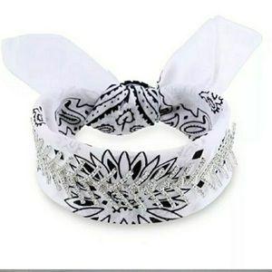 Jewelry - Rhinestone Bandana Choker/Headband