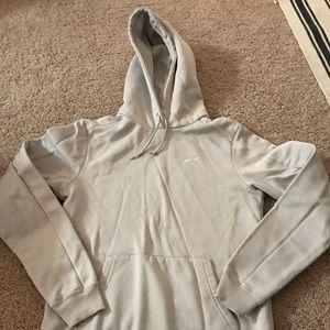 Under Armour light grey hoodie