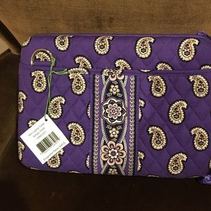 Vera Bradley NWT Simply Violet Mini Laptop Case