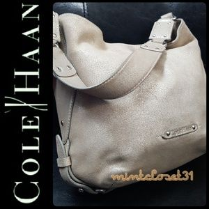 Cole Haan Leather Suede Hobo