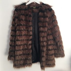 Fair fur coat