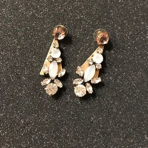 JewelMint gold statement earrings