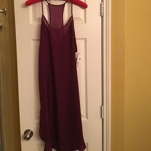 NWT DKNY plum colored size Large nightgown