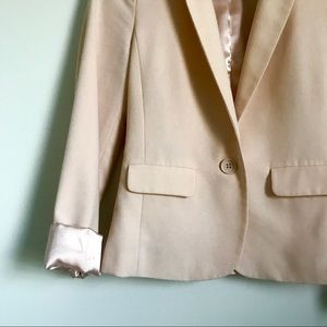 Frenchi Jackets & Coats - Frenchi Blush Pink Boyfriend Blazer Size Small S