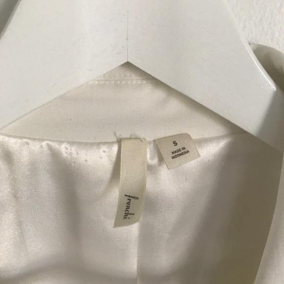 Frenchi Jackets & Coats - Frenchi White Boyfriend Blazer Nordstrom Sz Small