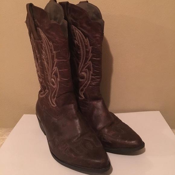 Lane Bryant Cowboy Boots   Poshmark