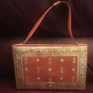 Handbags - Vintage Egyptian printed handbag
