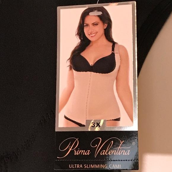 cf2d80d29d Primal Valentina Ultra slimming cami black 3x plus