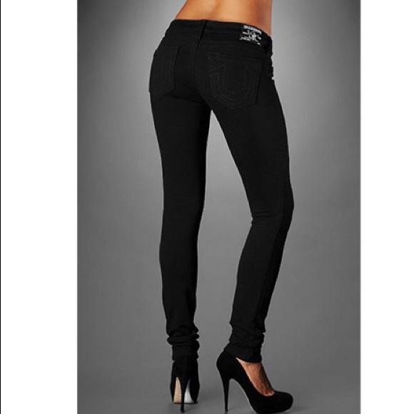 cf6f4db25a6d6 True Religion Stella Black Ponte skinny jeans. M_5a08de32620ff7c18213cf94