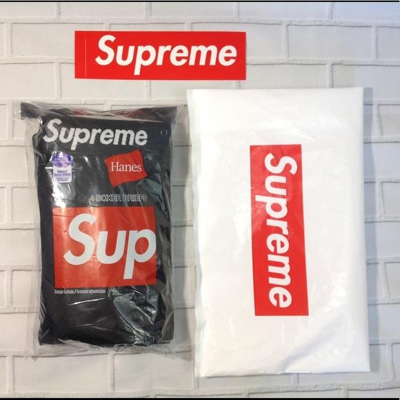 4b575d69973c Supreme Hanes 4pk Tagless Boxer Briefs (M) + Extra