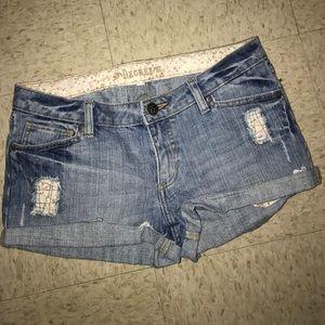 Decree Light Jean Shorts