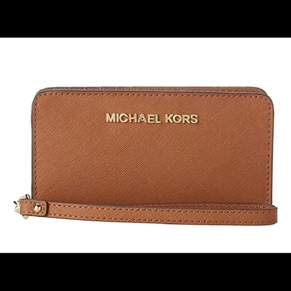 c729cef7cfac24 Michael Kors Bags | Michael Slim Wristlet Walletacorn | Poshmark