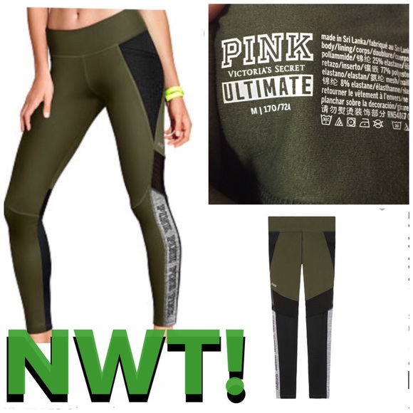 91cbe37c06 PINK Victoria's Secret Pants | Nwt Pink Ultimate Fleece Lined Pocket ...