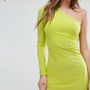 Club L One Shoulder Dress