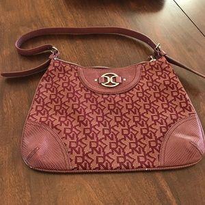 DKNY clutch bag