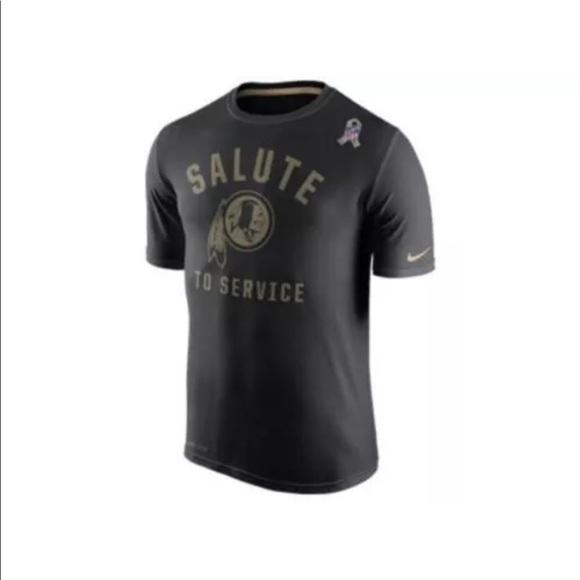 best service 69c3c 969b9 New Nike Men s Salute To Service NFL Redskins XL