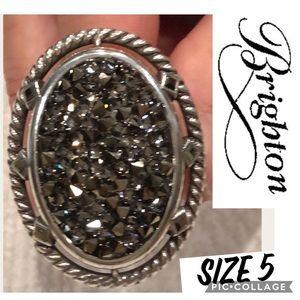 Brighton Crystal Rock Ring size 5