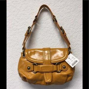 J.Crew Small Patent Leather Shoulder Bag