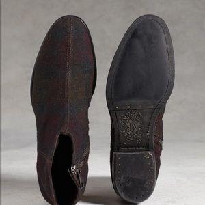 8d9f0696e493 John Varvatos Shoes - John Varvatos Plaid Boots