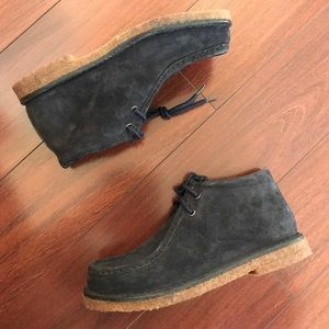 Suede Leather Boots by Wolverine 8.5M Women's