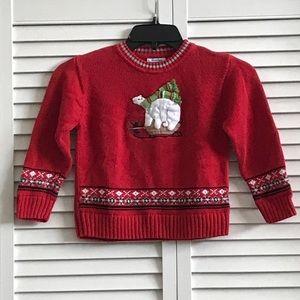 KIDS Polar bear sweater, EUC.