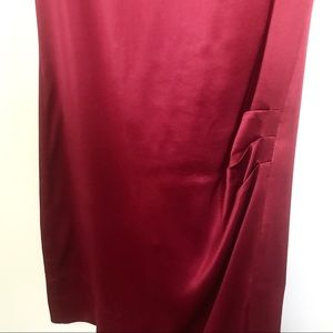 Banana Republic Dresses - Banana Republic Maroon Burgundy Sill Shift Dress 0