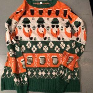 Luck of the Irish sweater
